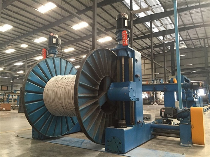 Horizontal Taping Machine For Power Cable Control Cable