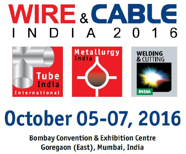 Meet us at Wire & Cable India 2016 in Hall 01/D27 at Mumbai, India ...