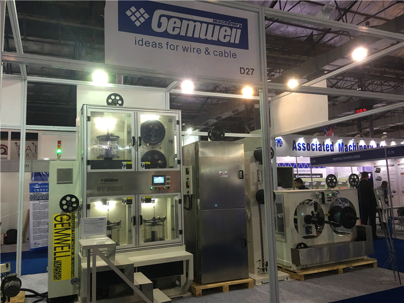 Gemwell new production taping machine launch in Wire & Cable India ...