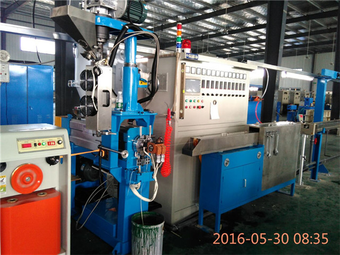 Chemical Foaming Extrusion Line For DATA Cable | Gemwell Machinery